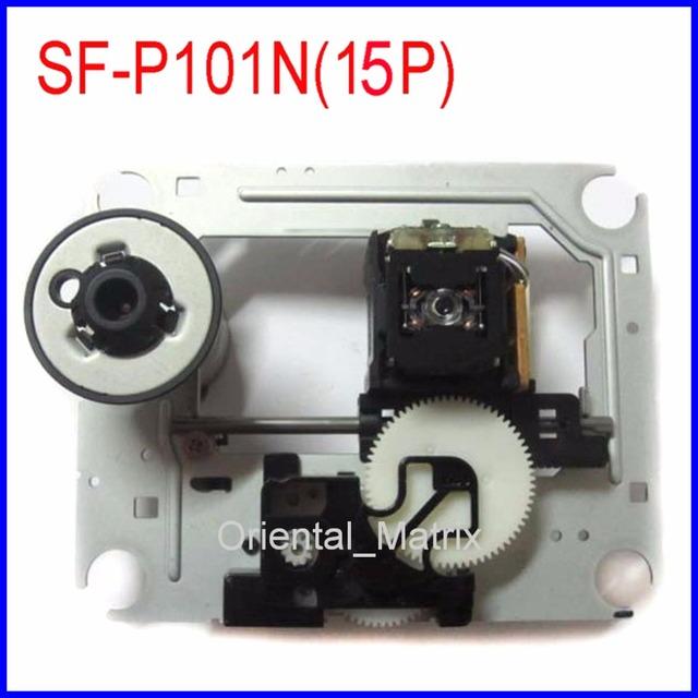 Frete Grátis Original SF-101N SF-P101N (15 Pinos) Captador Óptico Mecanismo SFP101N CD VCD Laser Lens Assembléia Picareta Optical-up