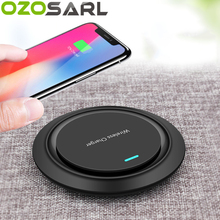 Qi Wireless Cool Charger for iPhone XS X 8 Plus Fast Charging Pad Samsung S8 S9 Note