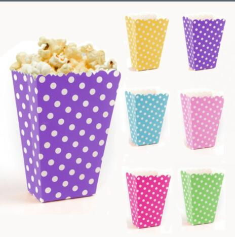 Aliexpress Buy Popcorn Boxes Wedding Party Favour Lolly Box Enchanting Decorative Popcorn Boxes