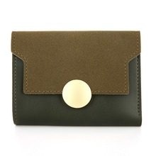 Здесь можно купить  NEW 2018 Fashion High Qality Brand New Women Wallet Short Hasp Leather Purse Money Vintage Lady Bag carteira portefeuille femme  Wallets & Holders