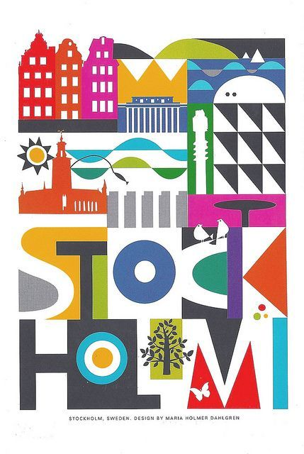 Ten things to do Stockholm Sweden Travel Wonder Vintage Retro Kraft Decorative Poster DIY Wall Stickers Posters Home Decor Gift