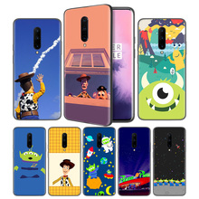 Toy Story Pizza Planet Soft Black Silicone Case Cover for OnePlus 6 6T 7 Pro 5G Ultra-thin TPU Phone Back Protective