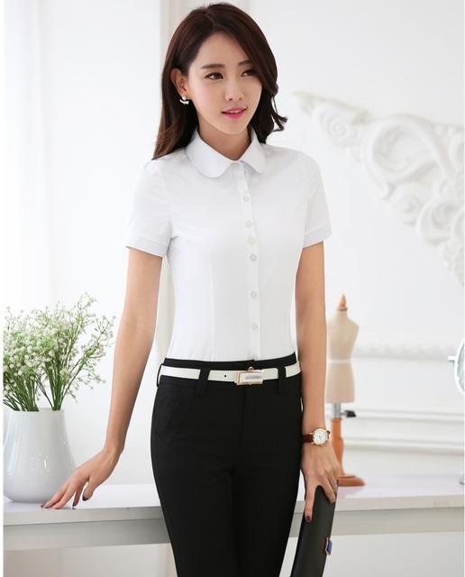 New Professional Business Suits Com Tops E Calças Estilo Uniforme Pantsuits Formais Calças Desgaste Do Trabalho Ternos de Verão Para Senhoras