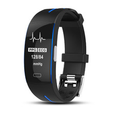 Ataliqi P3 Smart Bracelet Blood Pressure ECG+PPG Sport Pedometer Heart Rate Tracker Wristband Activity Fitness Tracker Smartband(China)