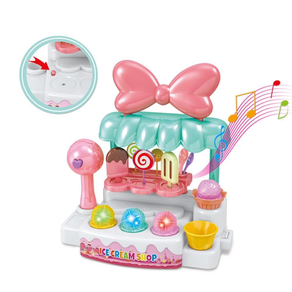 1 Set Giochi Di Imitazione Del Giocattolo Di Simulazione In Miniatura Piccolo Dolce Della Caramella Del Ghiaccio Crema Carrello Negozio Supermercato Bambini Che Giocano Giocattolo