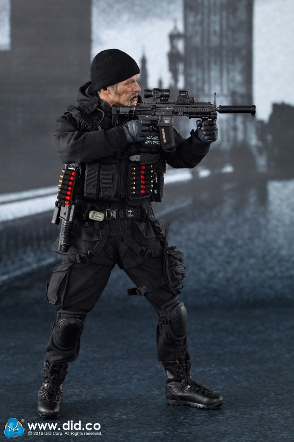 1/6 scale Super flexible figure 12 action figure doll plastic Collectible model toy British SAS B Squadron-Black Ops Team 1 6 scale figure doll terminator3 rise of the machines fembot t x 12 action figure doll collectible model plastic toy