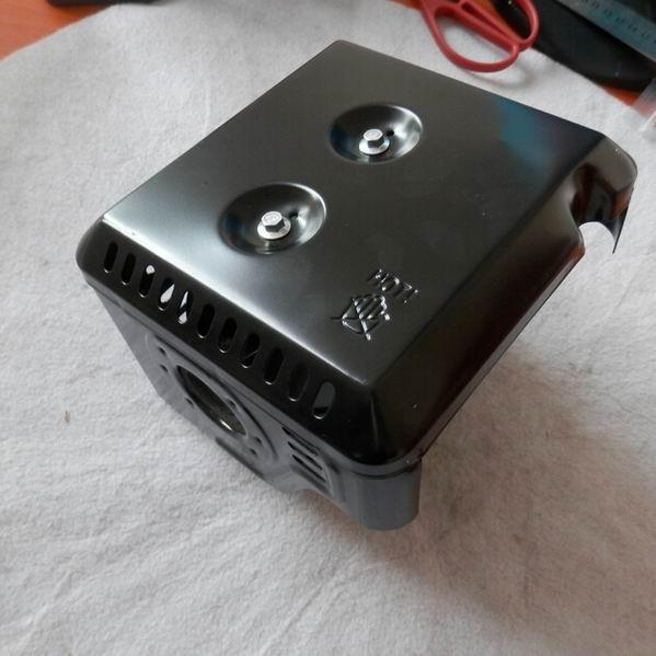 глушитель и тепловой экран подходит Хонда линейку gx240 gx270 8 9 л. с. водяной насос бесплатная доставка дешевые крышка Guard глушитель 18310-ze2-w00