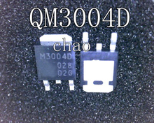 Free shipping 10pcs/lot QM3004D M3004D TO-252 MOS new