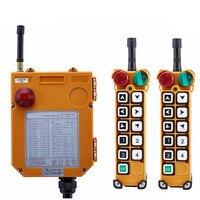 TELECRANE Wireless Industrial Remote Controller Double Speed Radio Hoist Remote Control 2 Transmitter + 1 Receiver F24 10D