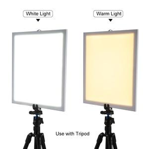 Image 5 - 1200LM LED Studio Photography Shadowless Bottom Light Shadow free Lamp Panel for Photo Shooting Tent Box &No Polar Dimming Light