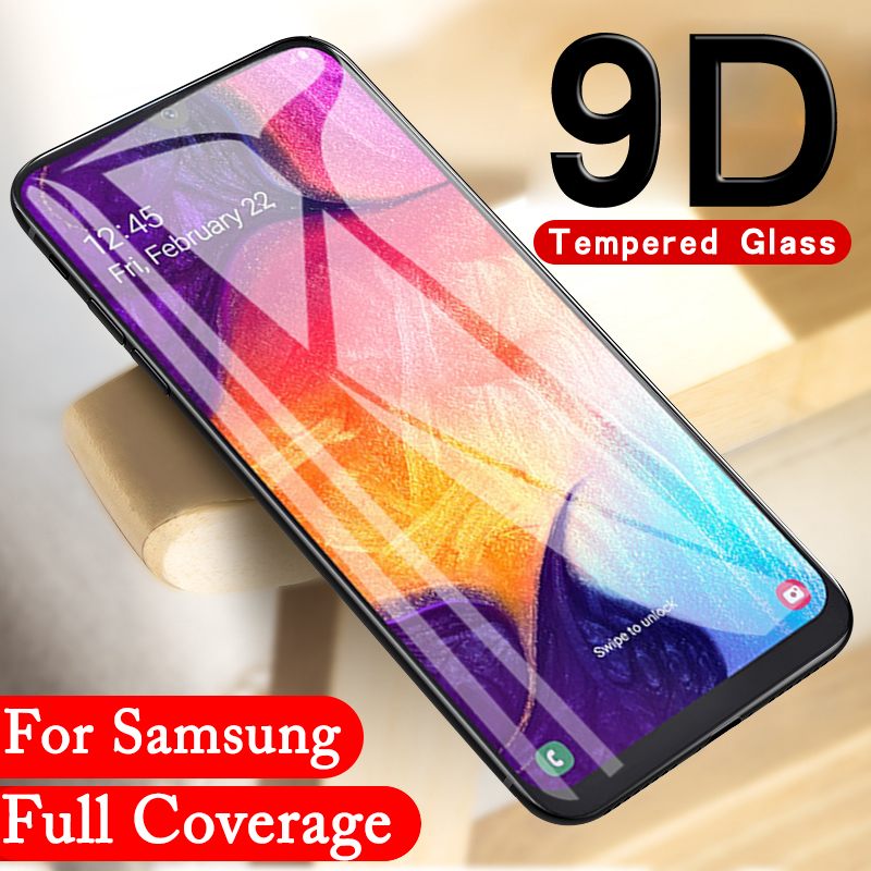 9D Protective <font><b>Glass</b></font> for <font><b>Samsung</b></font> Galaxy A70 <font><b>Glass</b></font> for <font><b>Samsung</b></font> A50 A60 A80 Screen Protector sansung <font><b>A</b></font> 70 <font><b>50</b></font> 60 Film Tempered Glas image