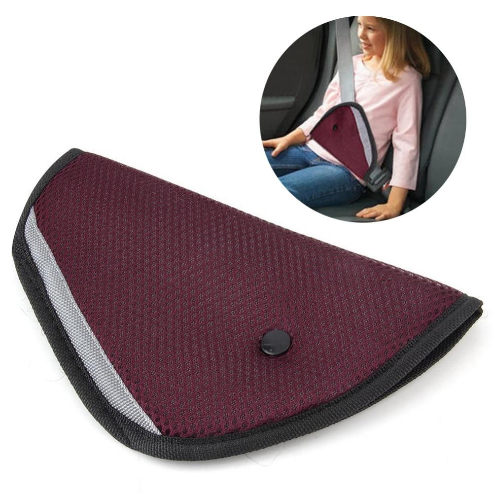 Car Child Safety Cover Shoulder Harness Strap Adjuster Kid Seat Belt Pad Clip