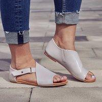 Women Shoes Summer Sandals Fashion Casual Leather Shoes 4 colors Plus size DD024