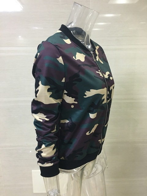 Action GAL Camo Bomber Jacket