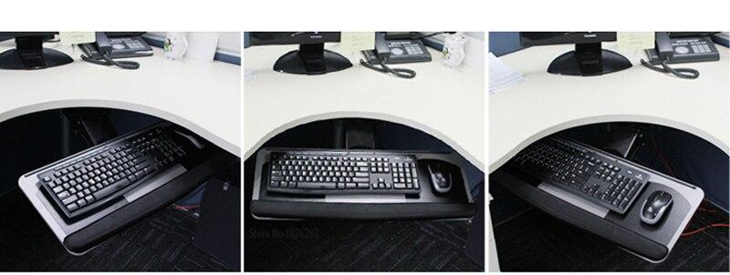 do teclado descanso de pulso com duas