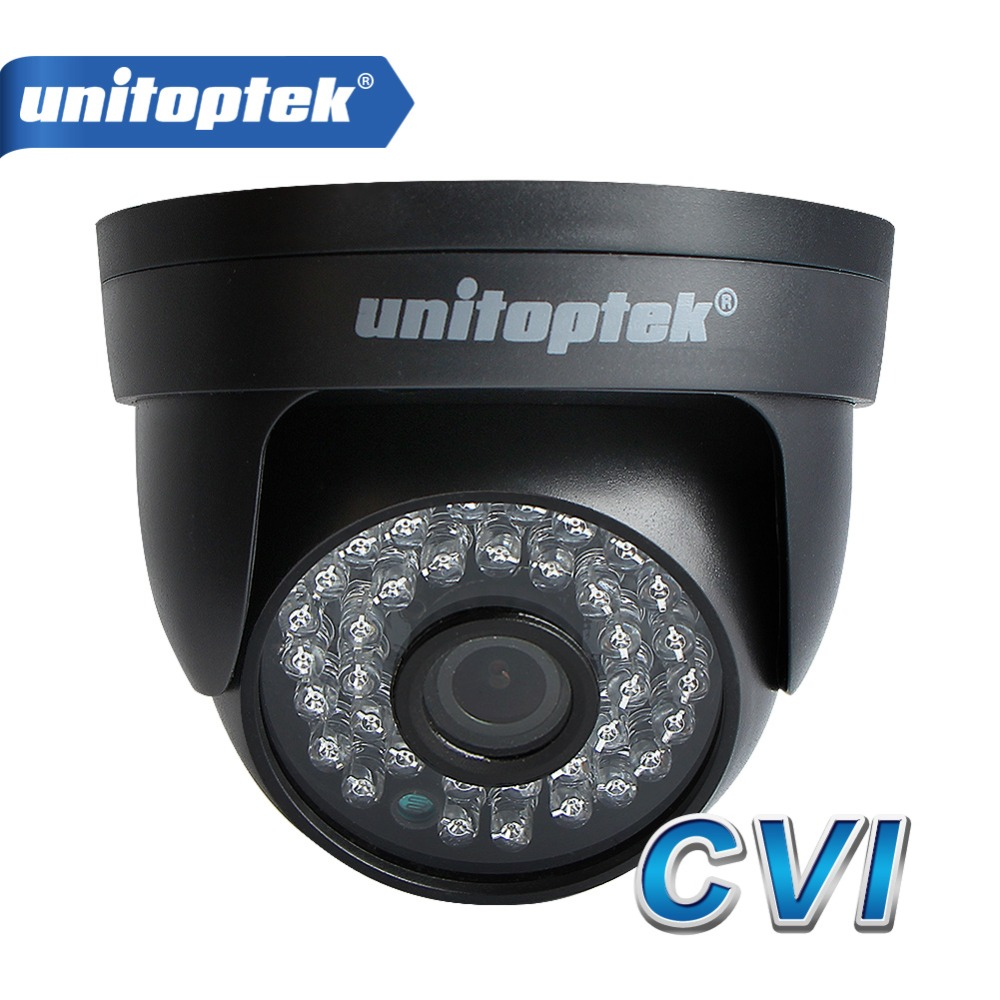 UNITOPTEK 2MP HD CVI Camera 720P 1080P IR 20M Day Night Video Security Surveillence Indoor 1.0MP HDCVI CCTV Surveillance Camera hikvision new english version ds 2ce56d5t vfi cctv turbo hd camera 1080p 2mp with ir day night security video surveillance