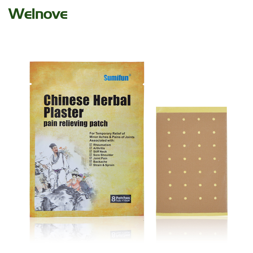 8Pcs Pain Relief Patch Strong Penetration Medical Pain Plaster Arthritic Back Pain Killer Chinese Herbal  K01401