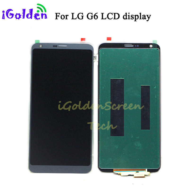 LCD For LG G6 LCD Display Touch Screen Digitizer Complete Full LCD Assembly Replacement For 5