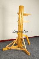 Wing chun houten dummy met teach video en geschenken voor u. Foshan Driehoek frame Wing Chun Kung fu Houten Dummies groothandel