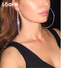 Loake 2017 Fashion Hot Sail Small Hoop Earrings For W European Rhinestone foreign trade Accessories antique classic Bijoux