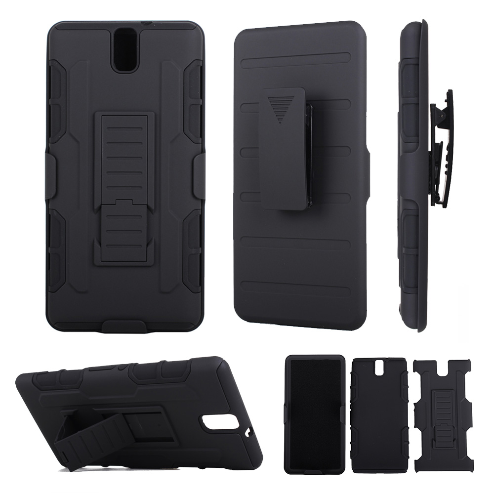 2 in 1 Armor Cover For Sony Xperia C5 Case Full Protective Phone Cases Coque For Sony Xperia C5 Ultra Dual Kickstand Belt Clip
