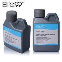 Elite99 Professional 120ml Acrylic Liquid False Acrylic Nail Liquid Acrylic Powder System Nail Art Tools For UV Gel Nail Tips