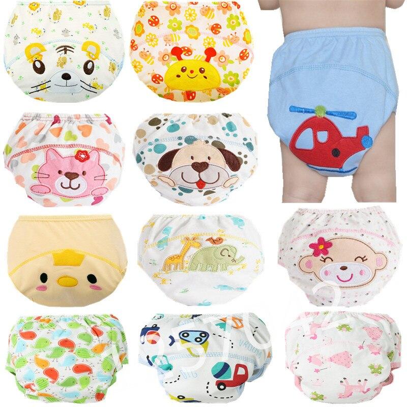 1 Stücke Nette Baby Windeln Mehrweg Windeln Tuch Windel Waschbar Kleinkinder Kinder Baby Baumwolle Training Hosen Höschen Windel Ändern
