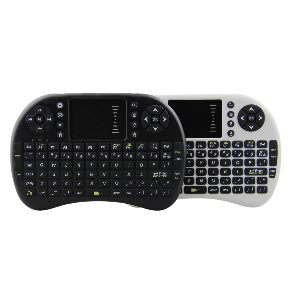 i8 Mini Wireless Keyboard Fly Air mouse TV Remote control with Russian English layout for Laptop Tablet pc Android Smart TV BOX