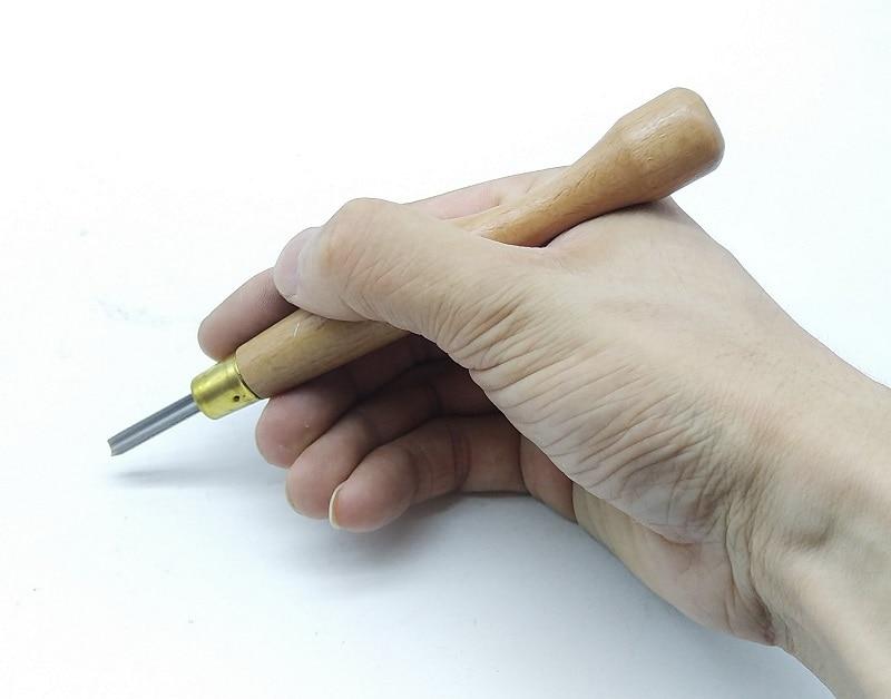 Escultura DIY Cortador de Mão Cinzel Faca