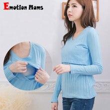 Emotion Moms; Модная одежда для беременных; топ для кормления; топы для беременных женщин; футболки для беременных; одежда для кормления