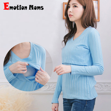 MamaLove Cotton Fashion Maternity Clothes  Nursing Top Breastfeeding Tops for Pregnant Women Maternity T-shirts feeding clothing hot sale casual pink nursing top clothes autumn loose breastfeeding tops clothing nursing clothing feeding clothing maternity h