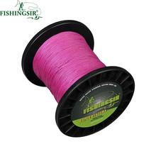 PE Braided Fishing Line 500m Strong Multifilament Fishing Line Bass Trout Carp Salmon Fishing Wire Sea