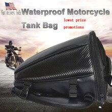 Quality leather saddle bags motorcycle bag leg waterproof moto tank bag mochila moto pierna bolsa motocicleta racing oil tank