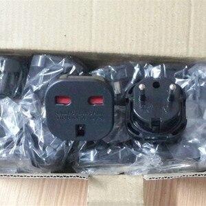 Image 3 - Nowy uniwersalny 2 Pin zasilanie prądem zmiennym adapter wtyczki złącze podróży adapter wtyczki zasilającej z wielkiej brytanii do ue adapter konwerter hurtownie