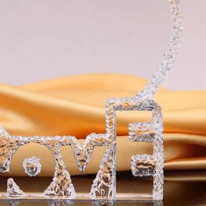 Image 4 - 개인화 된 사용자 정의 크리스탈 유리 심장 빙산 사진 액자 엄마 아내를위한 최고의 선물 생일 결혼 기념일 기념품