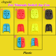 cltgxdd Plastic Housing Hard Shell Skin Case for Nintendo Switch Joy-Con Controller Middle Frame Faceplate Cover for NS Joy-Con цена