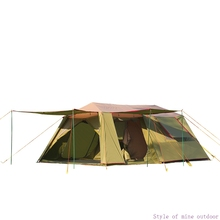 Genuine Alltel 5 6 8 Person Durable Huge Family Party Base Waterproof Camping Tent