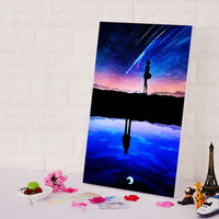 Diy Oil Painting Your Name Diy Digital Painting Japan Style Cartoon Movie Poster Digital Paint By
