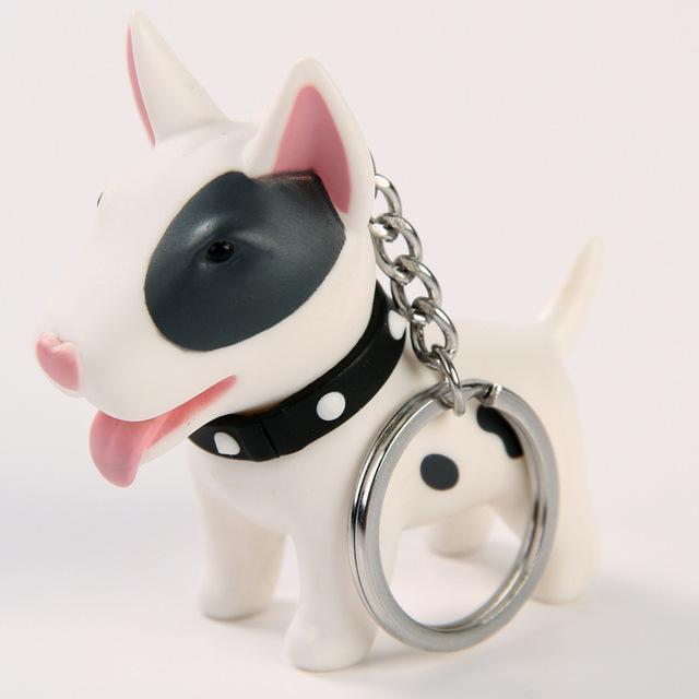 2018 Anime Figure Dog Keychain