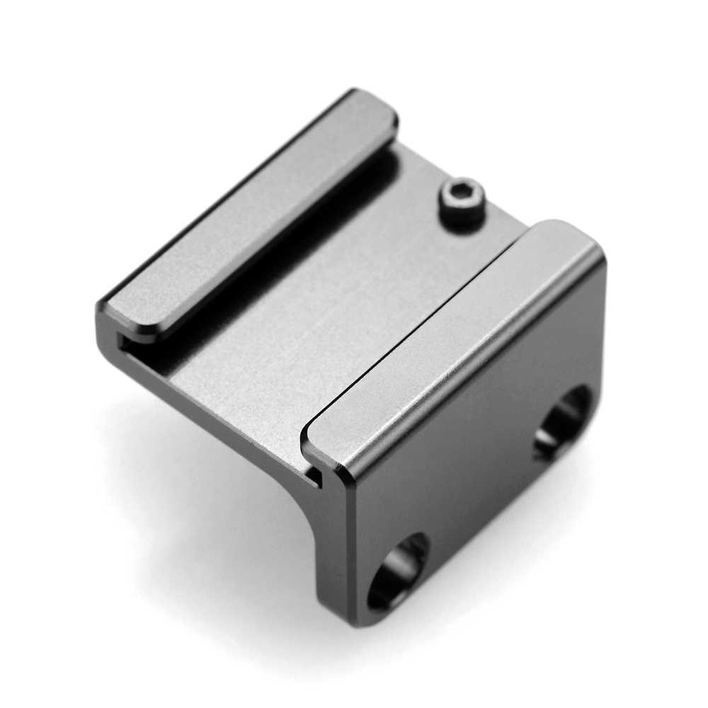 Adapter do montażu na zimno SmallRig z 1/4 gwintowanymi otworami na ramka do kamery DSLR Quick Release uchwyt na zimną stopkę-1593