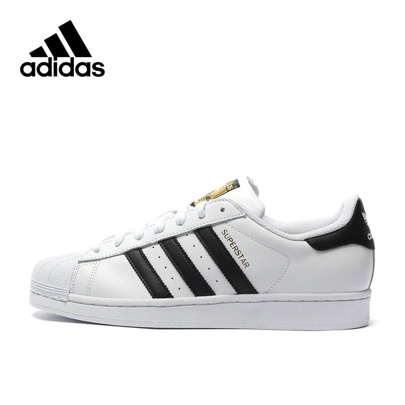 Prix pour Original Nouvelle Arrivée Adidas Officielles Superstar Classiques Hommes de Planche À Roulettes Chaussures Sneakers
