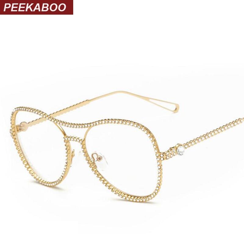 rhinestone eyeglass frames