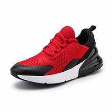 5f2df1d13e21e Spring Autumn 2018 New Male Light Gym Sport Shoes Men High Top Fitness  Stability Sneakers Men Athletic Trainers Red Tennis Shoes