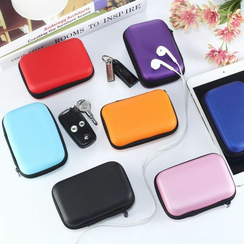 Image 4 - EDC Case Storage Bag Pouch Box for SD TF Card Earphones Headphones Headset MINI-in Storage Boxes & Bins from Home & Garden