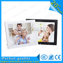 New High Quality 14 inches Digital Photo Frame with Remote Control LED Display Digital Picture Frame High Resolution HD Display(China)