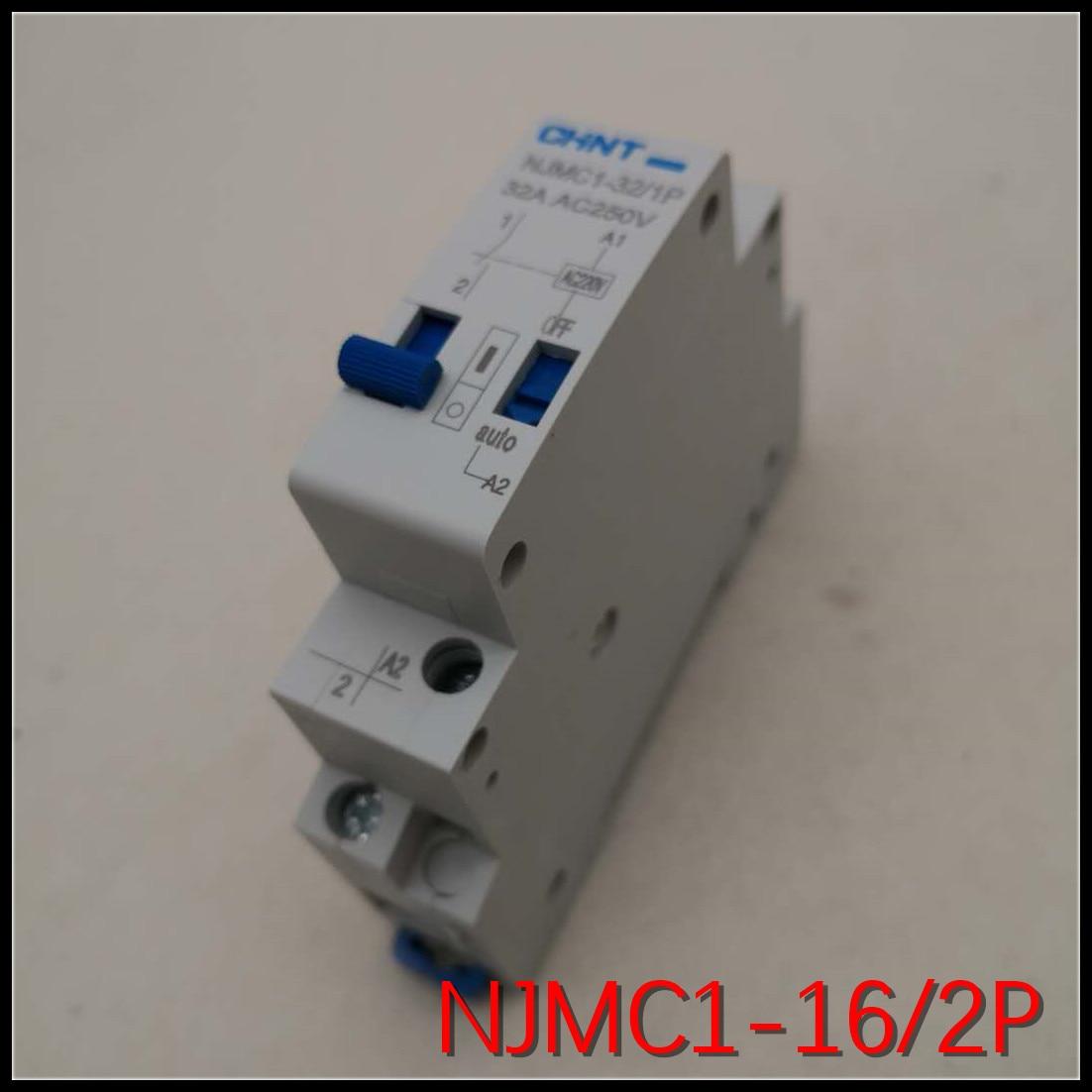 CHNT NJMC1-16/2P 16A AC220V DC24V AC24V DC12V Unipolar pulse relay выключатель chnt cnht lw112 16 1
