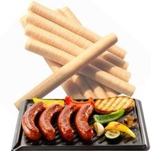 14 м* 26 мм инструменты для упаковки колбасы 1 шт. колбаса оболочки кожухи для колбасы хот-дог коллагеновый корпус салями кулинарные ящики кухня