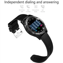 Smart Watch Phone Men Support SIM TF Card Pedometer HD Camera Round Bluetooth Smartwatch Fitness Tracker for Android IOS Phone aaliyah sw007 bluetooth smart watch with camera pedometer wearable devices support sim tf card men smartwatch for android phone