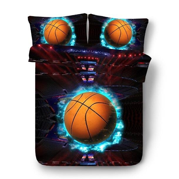 3D Баскетбол постельного белья простыней Супер Калифорния King size queen ПОЛНЫЙ twin постельное белье кровать в мешок листа белье 4 шт.