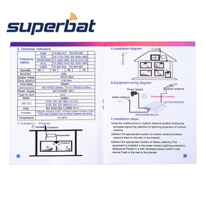 Image 5 - Superbat 850MHz 4G LTE GSM 3G CDMA NUMT Antenna Aerial for AT&T Verizon Mobile Phone Signal Booster Repeater Amplifier